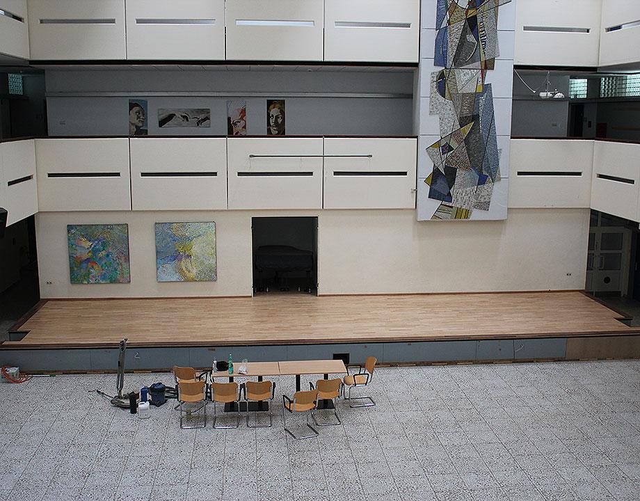 Parkett , Treppe , Lackierung , Lack , Holz , Fußbodentechnik